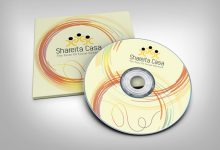 Design elegant CD or DVD cover
